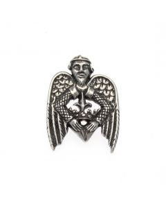 Angel Pewter Pilgrim Badge