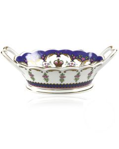 Queen Victoria China Basket