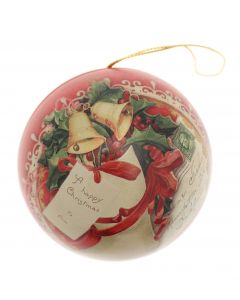 Vintage Bauble Tin with Chocolates