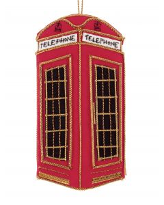Telephone Box Decoration