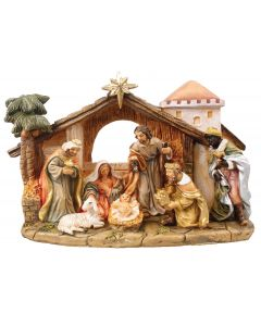 Nativity Holy Family Resin