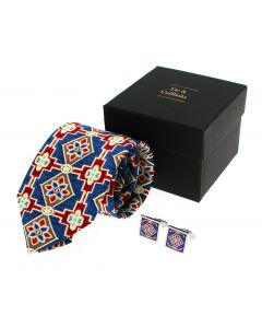 Westminster Abbey Retable Tie and Cufflink Set
