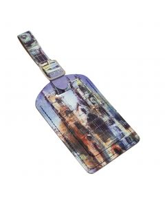 Westminster Abbey Collage Luggage Tag
