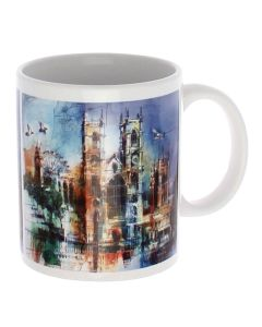 Westminster Abbey Collage Mug
