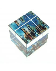 Westminster Abbey Collage Paperweight