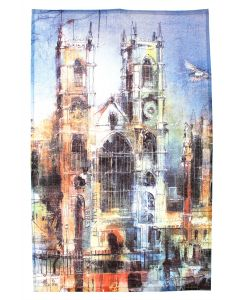 Westminster Abbey Collage Tea Towel