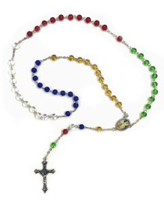 Rosary Glass Multicoloured