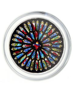 Westminster Abbey Rose Window Paperweight