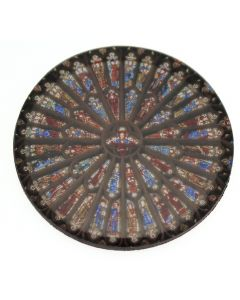 Rose Window Magnet