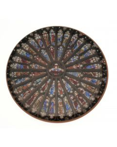 Westminster Abbey Rose Window Coaster