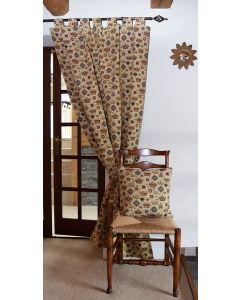 Royal Crowns Tapestry Curtain