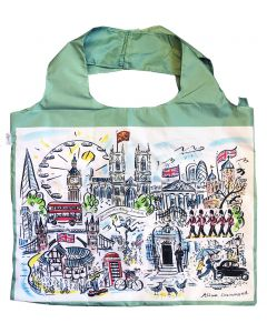 Westminster Abbey Scenes of London Foldaway Bag