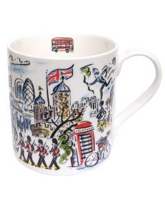 Westminster Abbey Scenes of London Mug