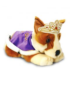 Royal Corgi Soft Toy
