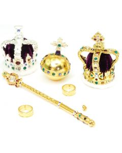 Seven Piece Coronation Miniature Collection