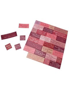 Shakespeare Love Quotes Magnetic Set