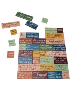 Shakespeare's Insults Magnet set