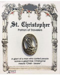 St Christopher Pin