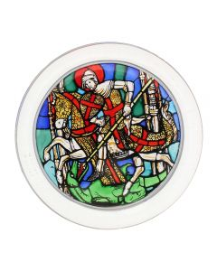 St. George and the Dragon Paperweight
