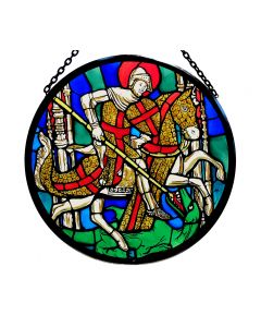 St. George and the Dragon Roundel
