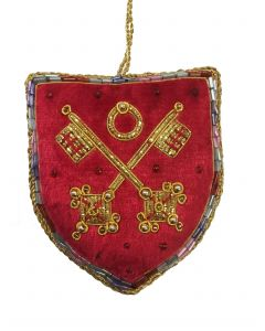 Flag of St Peter Shield Decoration