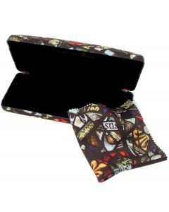 Stained Glass Glasses Case