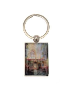 The Quire Looking West by Alexander Creswell Keyring