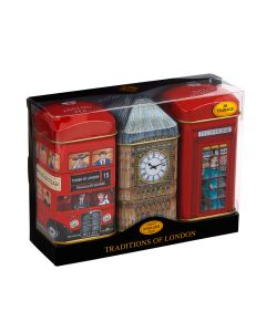 Traditions of London Tea Tin Set