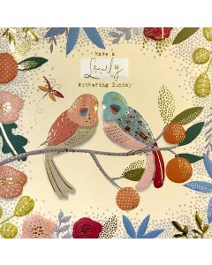 Tropical Birds Mother's Day Card