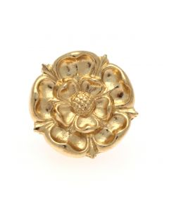 Westminster Abbey Gilt Tudor Rose Pin Badge