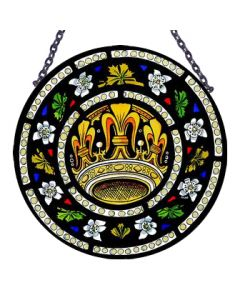 Tyntesfield Crown & Roses Roundlette