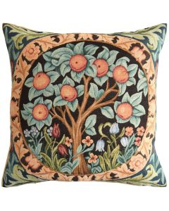 Orange Tree Tapestry Cushion Cover