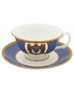 Westminster Abbey Angels China Tea Cup & Saucer