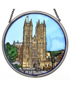 Westminster Abbey Stained Glass Window Roundel