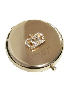 Westminster Abbey Crystal Crown Mirrored Compact