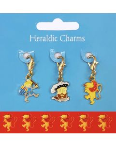 Westminster Abbey Kings & Queens Heraldic Charms
