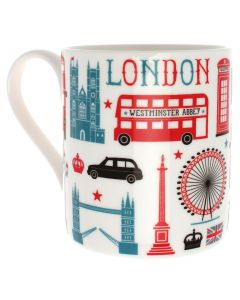 Westminster Abbey London Icons Mug
