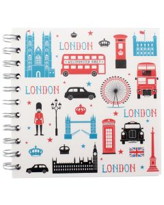 Westminster Abbey London Icons Square Notebook