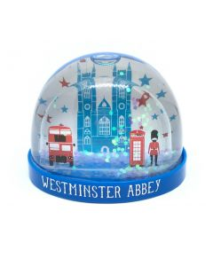 Westminster Abbey London Icons Snow Globe