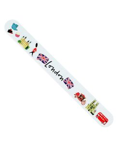 Westminster Abbey London Map Nail File