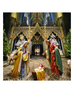 Nativity at Westminster Abbey Personalised Card
