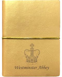 Westminster Abbey Gold Crown Notebook