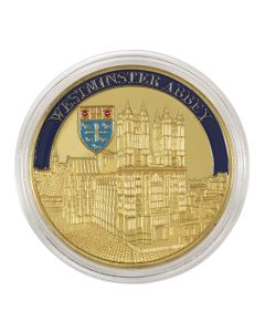 Westminster Abbey Medal with Enamel
