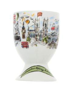 Westminster Abbey Scenes of London Egg Cup