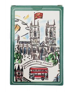 Westminster Abbey Scenes of London Playing Cards