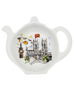 Westminster Abbey Scenes of London Teabag Tidy