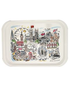 Westminster Abbey Scenes of London Tray