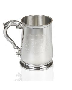 Westminster Abbey Pint Sized Pewter Tankard