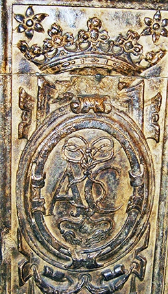 Anne of Cleves Tomb Carvings