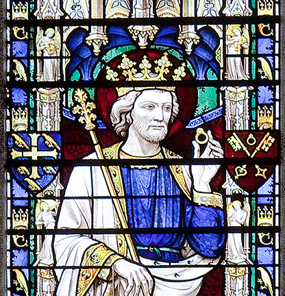 Edward the Confessor Stained Glass Window